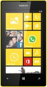 Reparatur beim defekten Nokia Lumia 520 Smartphone